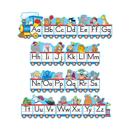 - Carson Dellosa Alphabet Train Bulletin Board Set (1787)