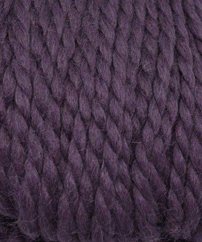 Grande 100% Baby Alpaca Yarn - #4967 Grape (Yarn 110 Yard)