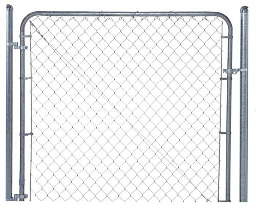 "Fit-Right Chain Link Fence Walk-through Gate Kit (24""-72"" wide x 4"