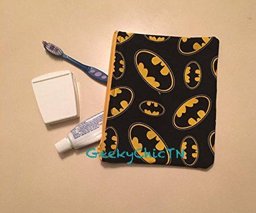 Batman Makeup Bag by GeekyChicTN