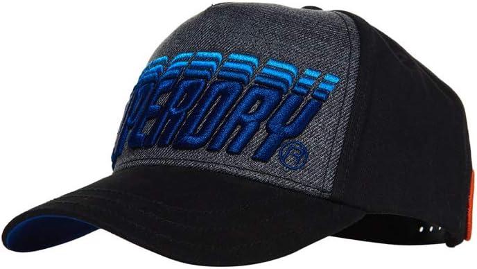 Superdry Sunset Cap Gorra de béisbol, Azul (Dark Navy 24S), Talla ...