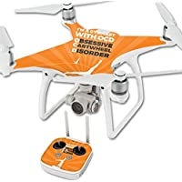 Skin For DJI Phantom 4 Quadcopter Drone – Ocd Gymnast | MightySkins Protective, Durable, and Unique Vinyl Decal wrap cover | Easy To Apply, Remove, and Change Styles | Made in the USA
