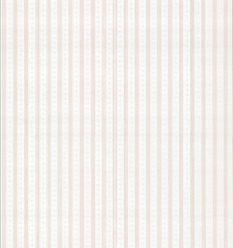 Brewster 979-73470 Mirage Cameo Rose IV Ribbon Stripe Wallpaper, 20.5-Inch by 396-Inch, Pink