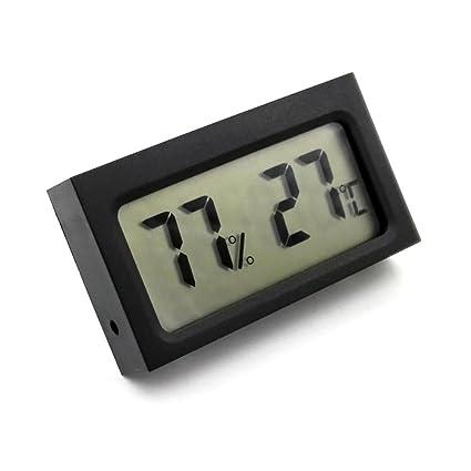 FOONEE - Termómetro termómetro Digital para Exteriores, pequeño y portátil, Alta precisión, Control de Temperatura Ambiental, medidor de Temperatura, ...