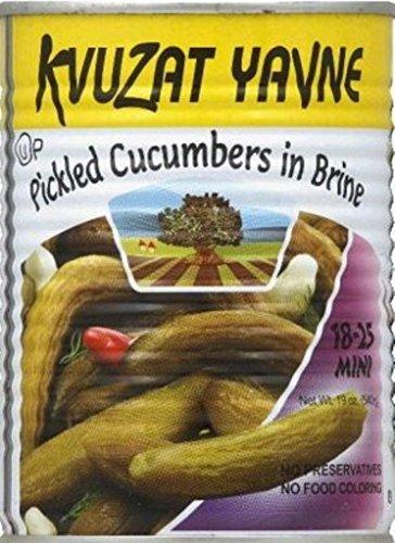 Kvuzat Yavne Green Olives Manzanillo Sliced KFP 18-25 Mini 19 Oz. Pack Of 6. by Kvuzat Yavne