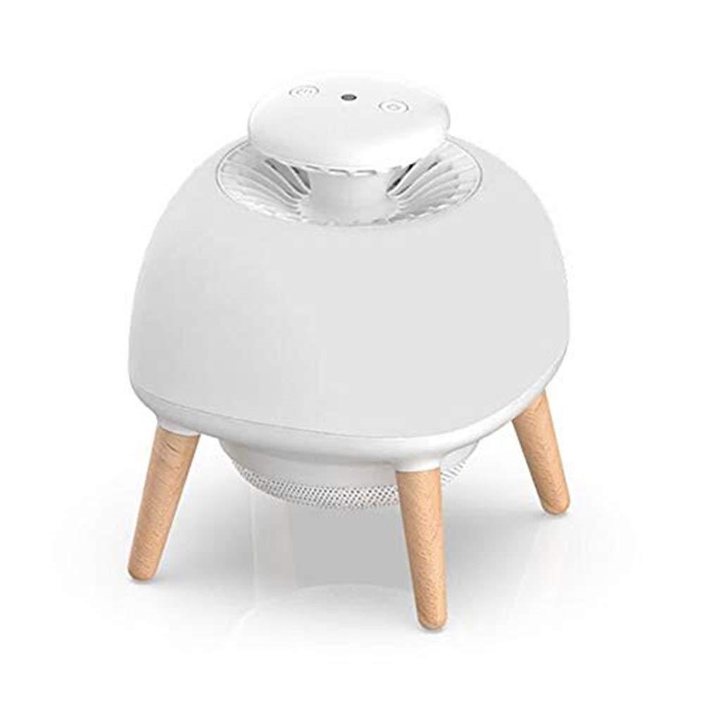 蚊ランプ蚊キラー、 蚊のキラーランプ、スマートLED-UV気流吸引蚊トラップ、安全で環境にやさしい/放射線なし/無毒/ノイズなし B07RBXY5PF