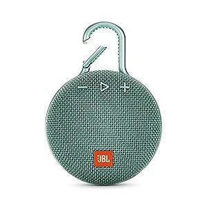 JBL Clip 3 - enceinte Bluetooth Portable avec Mousqueton - Étanchéité Ipx7 - Autonomie 10hrs - Qualité Audio JBL - Turquoise 10