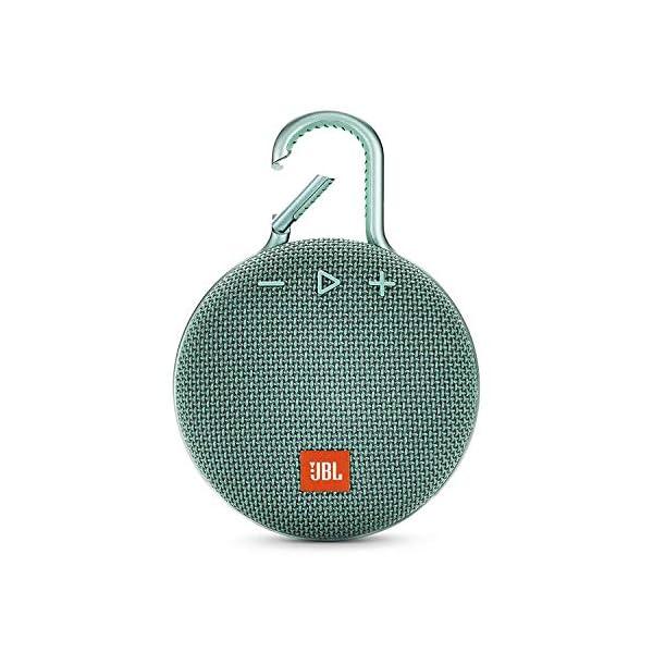 JBL Clip 3 - enceinte Bluetooth Portable avec Mousqueton - Étanchéité Ipx7 - Autonomie 10hrs - Qualité Audio JBL - Turquoise 1
