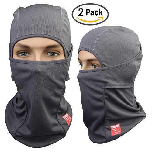Dimples Excel Balaclava Motorcycle Tactical Skiing Face Mask [2-PACK]
