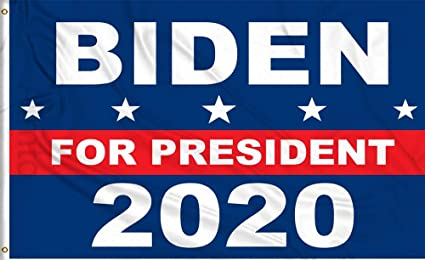 150x90cm US Presidential Selection Flag 2020 Biden Campaign Buntings Flag