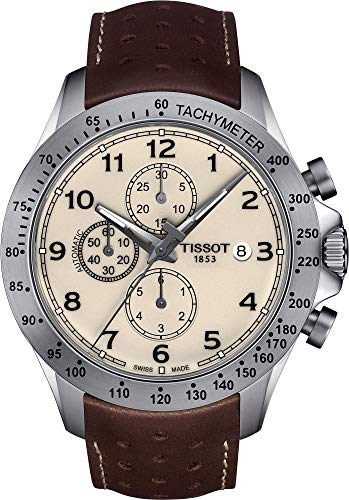 Tissot V8 Automatic Cream Dial Mens Watch T106.427.16.262.00