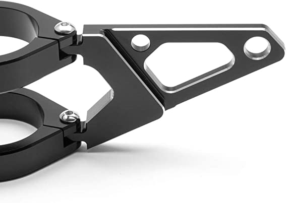 Pro Braking PBK1745-CLR-BLA Front//Rear Braided Brake Line
