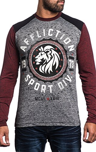 Affliction L/s Tees - Affliction Brave Standard L/S T-shirt L