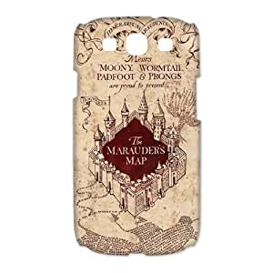 Custom Your Own Harry Potter Marauders Map SamSung Galaxy S3 I9300 Case, personalised Harry Potter Samsung S3 Cover
