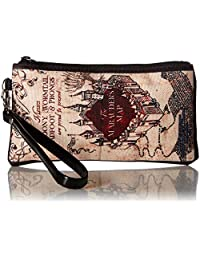 """Buckle-Down Buckle-Down Zip Wallet Harry Potter Large Accessory, Harry Potter, 8"""" x 5"""""""