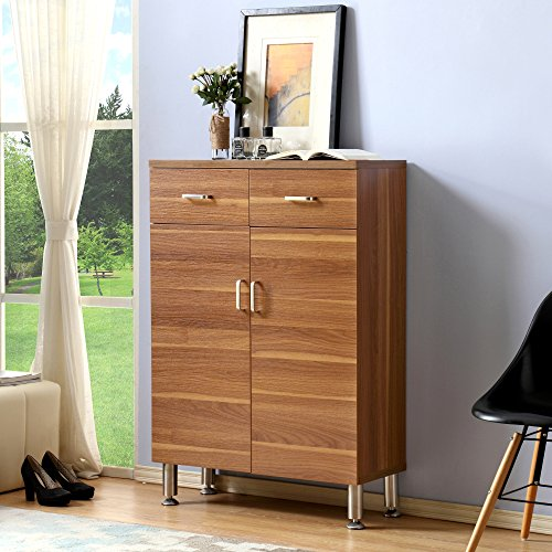 2 Door Contemporary Cabinet - 4