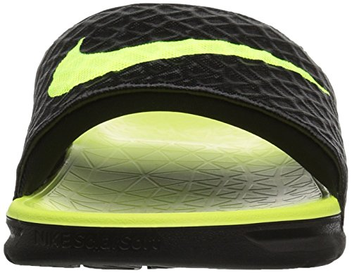Solarsoft 's Men Black Volt 070 Pool amp; NIKE Beach Shoes Benassi Black wA1twqZ