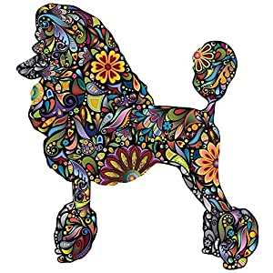 My Wonderful Walls Standard Poodle Dog Decal Wall Sticker (M) 1