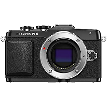 Olympus E-PL7 16MP Mirrorless Digital Camera with 3-Inch LCD (Black)
