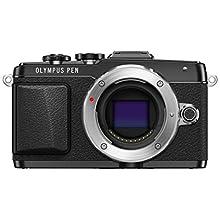 Olympus E-PL7 16MP Mirrorless Digital Camera with 3-Inch LCD (Black)