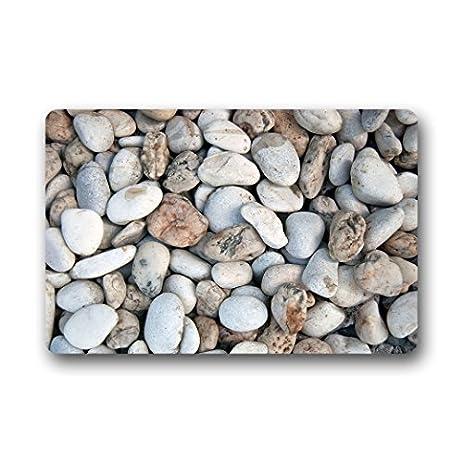 Personalized Custom Pebble Doormat Garden Home Non Slip Rubber Door Mat  Indoor/Outdoor Entrance Mats