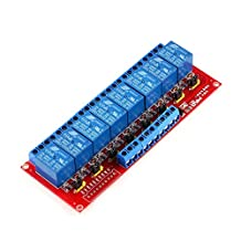 8-Channel DC 12V Relay Module Board with H/L Level Triger for Arduino