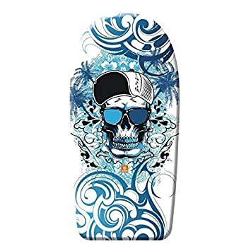 Alta calidad Bodyboard 84 cm / Body Board / Tabla de surf / Kickboard Calavera Tattoo