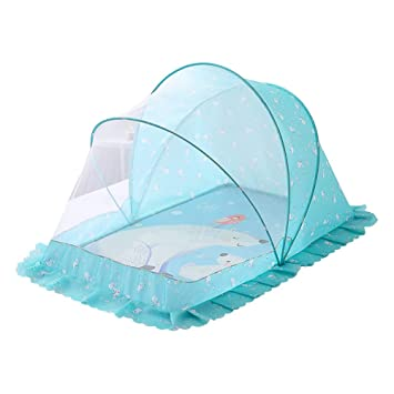 Baby Infant Portable Foldable Travel Net Bed Crib Canopy Mosquito Net Tent  S