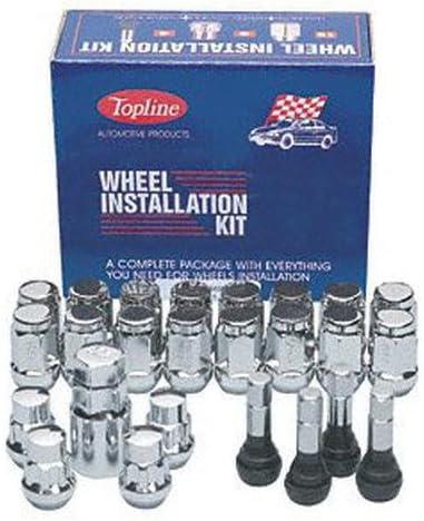 Topline C21705 5 Lug HT Acorn Wheel Kit