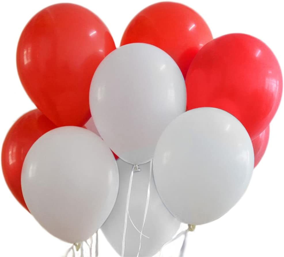 Details about  /5pcs 12 inch Red Latex Thickening Wedding Bachelorette Party Birthday Balloons