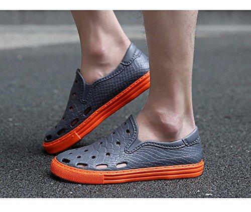 Sommer Atmungsaktiv Männer Schuh Sandalen Männer Loch Schuh Trend Strand Schuh Männer ,grau,US=7.5,UK=7,EU=40 2/3,CN=41