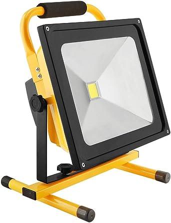 Foco LED Proyector, VBFFS 50W LED Proyector de construcción para ...