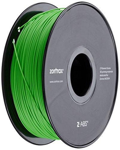 Zortrax 5904730747073 Z-ABS Filament pour Imprimante 3D,Vert