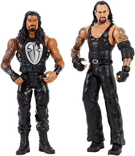 WWE Wrestlemania Undertaker and Roman Reigns Figure 2Pack (Best Of The Undertaker)