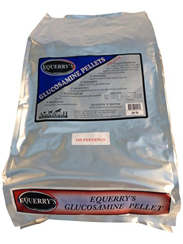 Equerry's Glucosamine Pellet 160 Feedings for 1000 lb Horse, 20 lb. by Equerry's