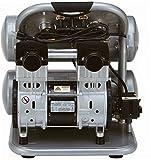 California-Air-Tools-CAT-4620AC-Ultra-Quiet-Oil-Free-20-hp-40-gallon-Aluminum-Twin-Tank-Electric-Portable-Air-Compressor-Silver