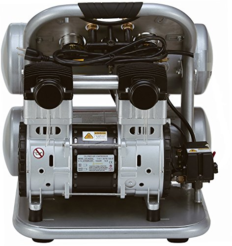 743369740209 - 4.6 Gallon GMC SYCLONE 4620A Ultra Quiet and Oil Free Air Compressor carousel main 2