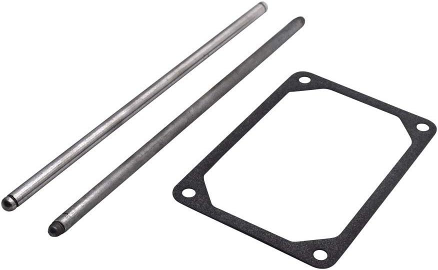 HandyTek 692003 & 692011 Intake & Exhaust Push Rod Set & 690822 Push Rod Guide for 272475S Rocker Cover Gasket Replaces 495248, 690822