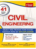CIVIL ENGINEERING Subject Wise Solved 41 Papers With Explanation
