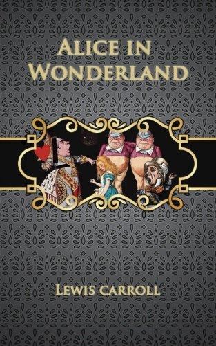 Book cover for Alice in Wonderland