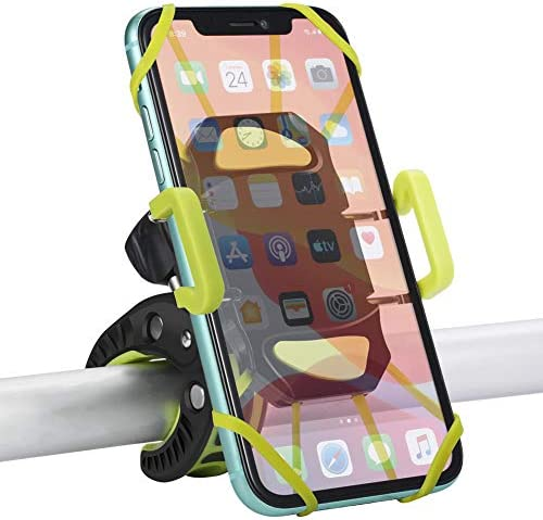 Details about  /Bicycle Bike Handlebar Clip Mount Holder Stand for iPhone 6//5s//GPS Mobile Phone~