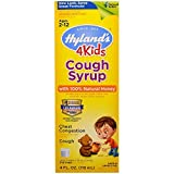 Hyland's Cough Syrup with 100% Natural Honey 4 Kids