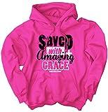 Saved Amazing Grace Christian T Shirt | Religious Gift Jesus Hoodie Sweatshirt
