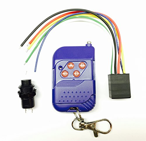RF Remote Controlled Programmable Decoy Timer for Duck , Dove and Mojo decoys. DC 6v ()