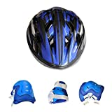 Original-1-Pack-Kids-Bike-Helmet-Knee-pad-Elbow-Wrist-Protection-Set-for-Bicycle-Skateboard-Scooter-for-Kids-612-Years-Old-Birthday-Gift