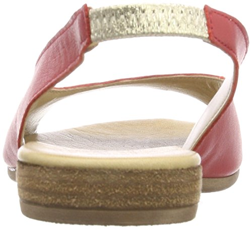 Andrea Conti 0955710, Women's Heels Sandals Red (Rot 021)
