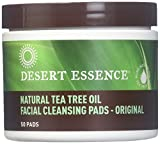 Cleansing With Tea - Facial Cleansing Pads - Tea Tree Oil, 50 pads 2-pack