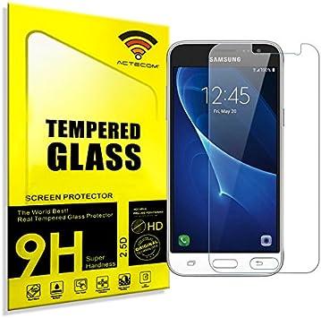 actecom® Protector DE Pantalla Compatible para Samsung Galaxy J3 ...