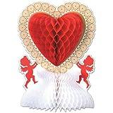 Beistle 77042 Valentine Centerpiece, 11-Inch, 1 Per Package