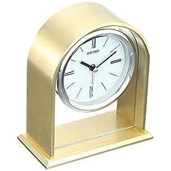 Seiko Metal Alarm Clock (Model: QHE134FLH)